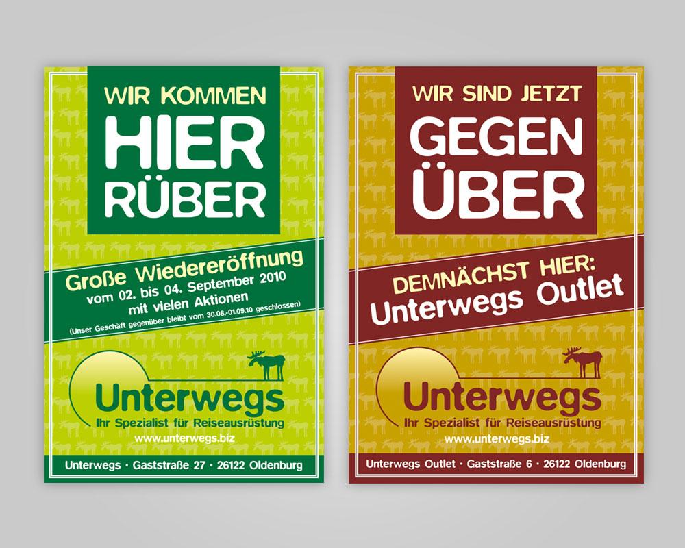 JD Designstudio   Werbeagentur & Webdesign   Unterwegs Plakate