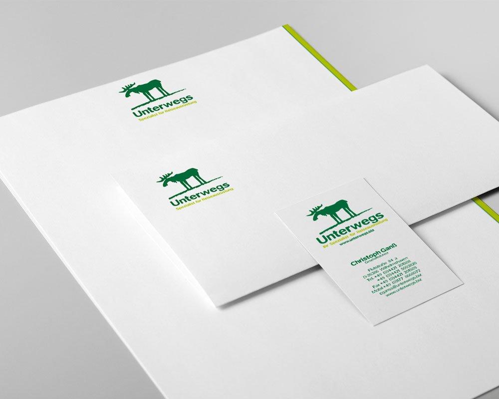 JD Designstudio   Werbeagentur & Webdesign   Unterwegs Geschäftspapiere