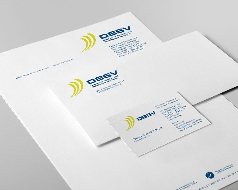 JD Designstudio   Werbeagentur & Webdesign   DBSV Geschäftspapiere