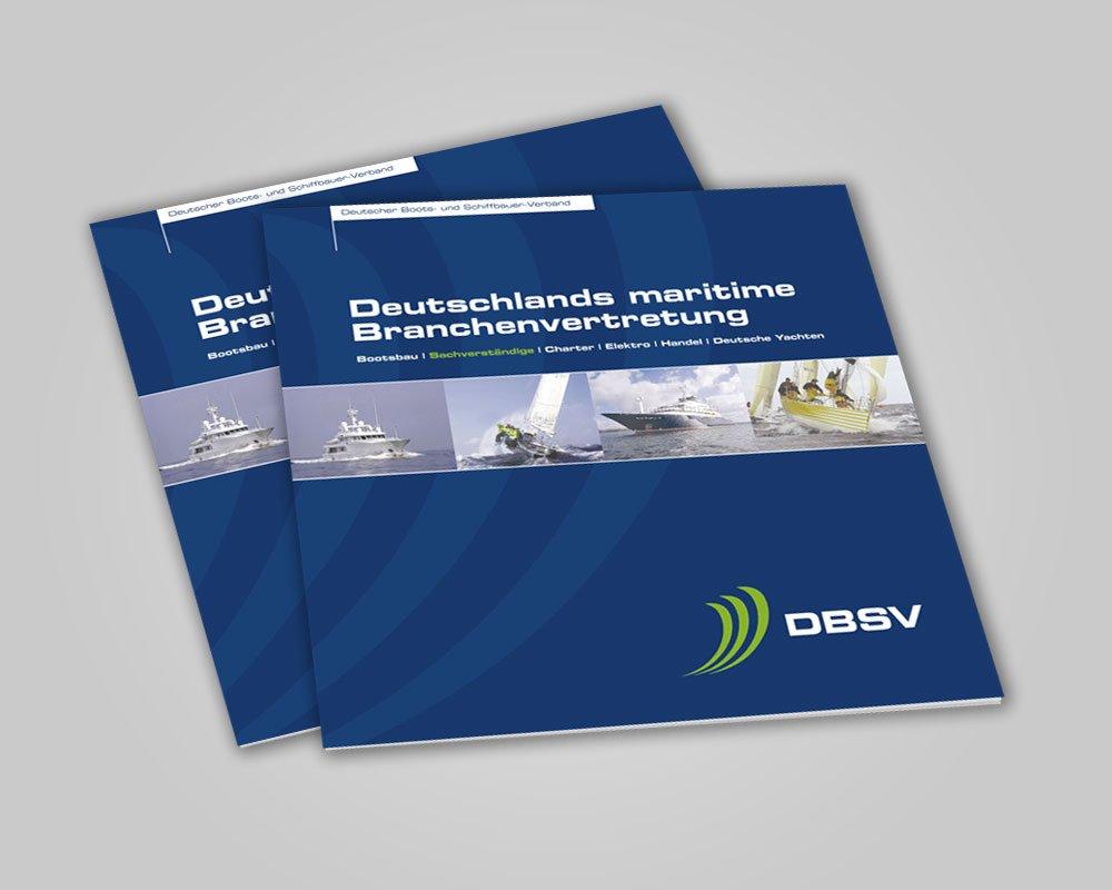 JD Designstudio   Werbeagentur & Webdesign   DBSV Broschüre