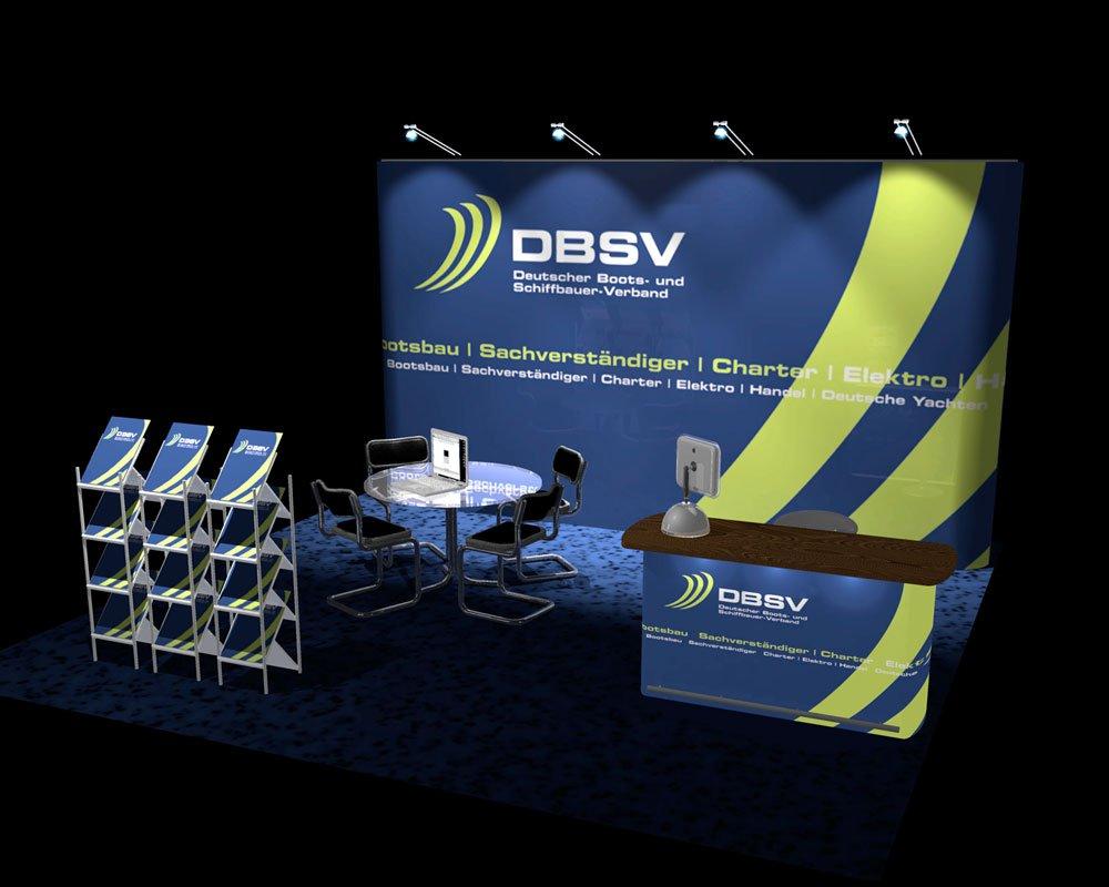 JD Designstudio   Werbeagentur & Webdesign   DBSV Messestand