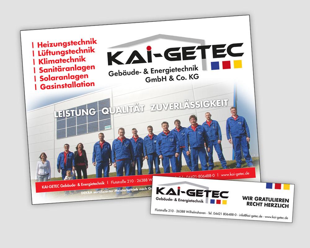 JD Designstudio | Werbeagentur & Webdesign | Kai Getec Anzeigen
