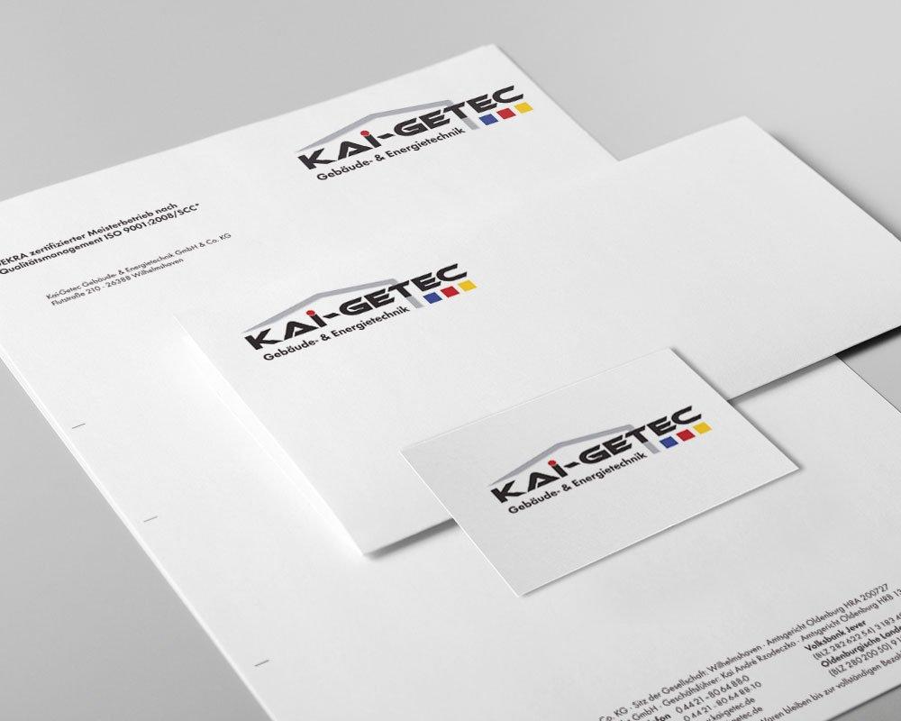 JD Designstudio | Werbeagentur & Webdesign | Kai Getec Geschäftspapiere