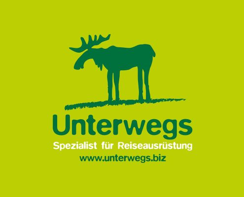 Unterwegs Logo-Redesign