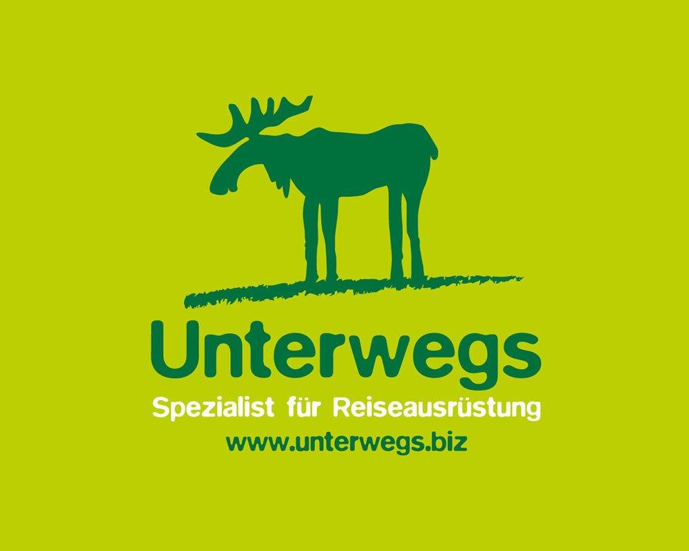 Unterwegs Logo-Redesign