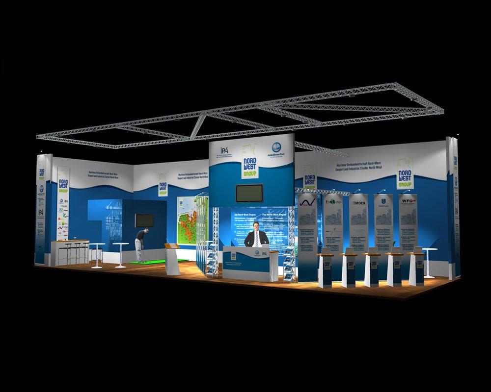 JD Designstudio | Werbeagentur & Webdesign | NWG Messestand