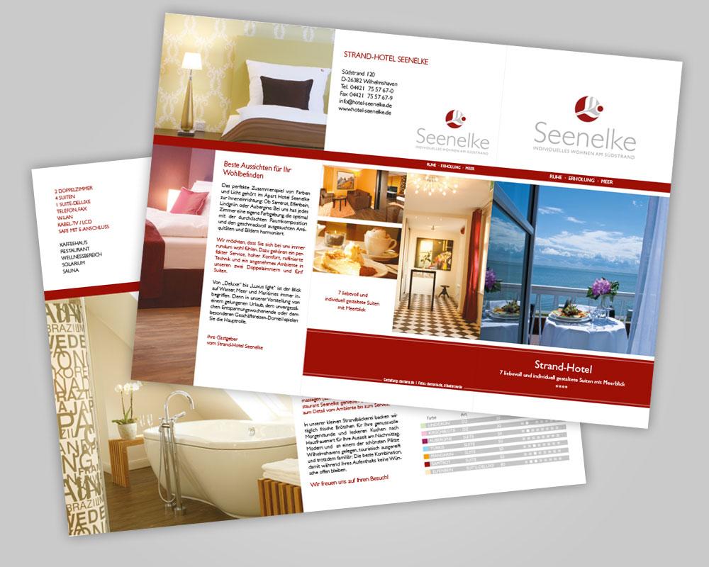 JD Designstudio | Werbeagentur & Webdesign | Hotel Seenelke Image-Flyer