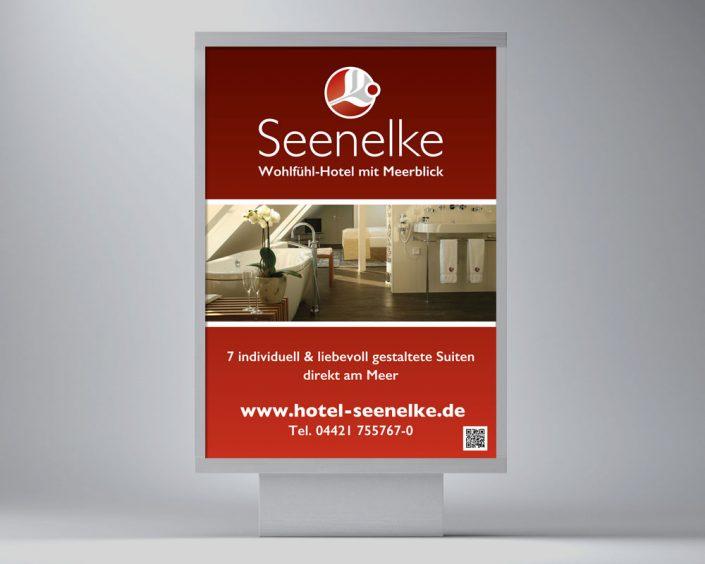 Hotel Seenelke Plakat