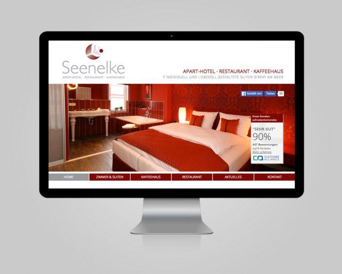 Internetauftritt - www.hotel-seenelke.de
