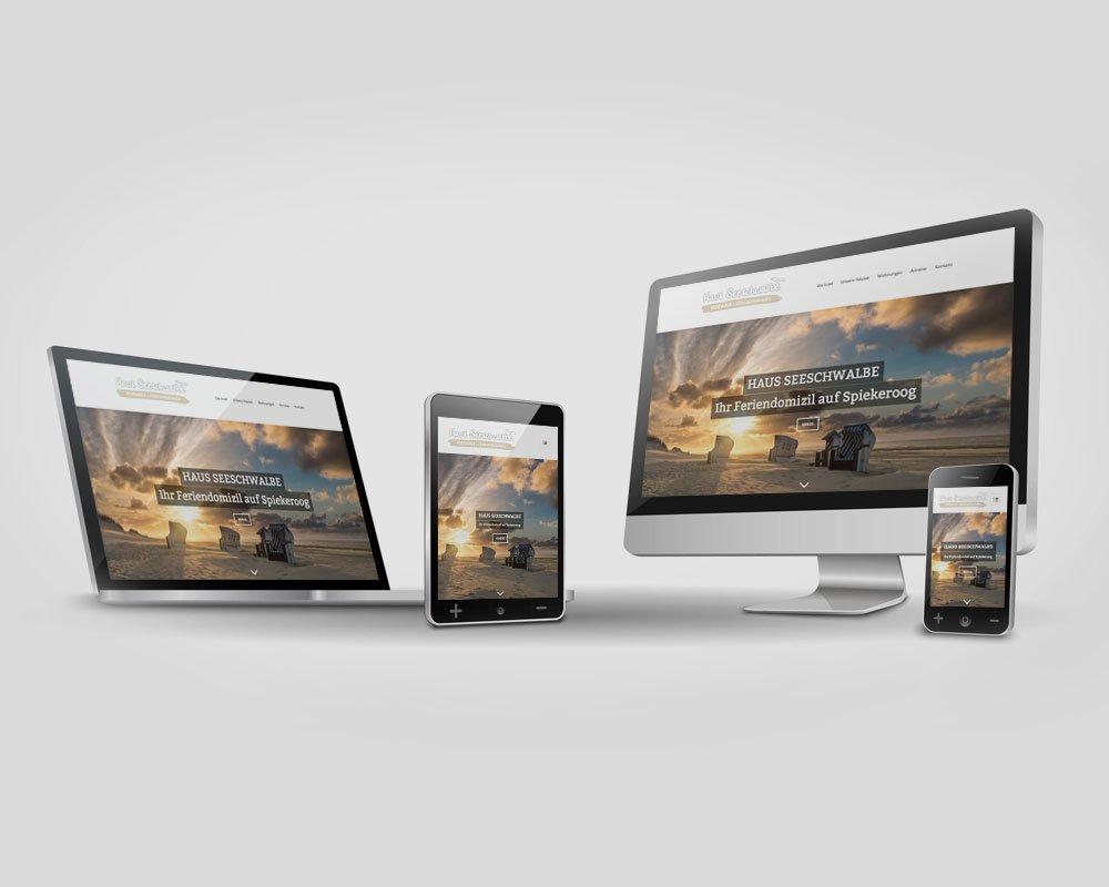 JD Designstudio | Werbeagentur & Webdesign | Internetauftritt - www.spiekerooger-seeschwalbe.de