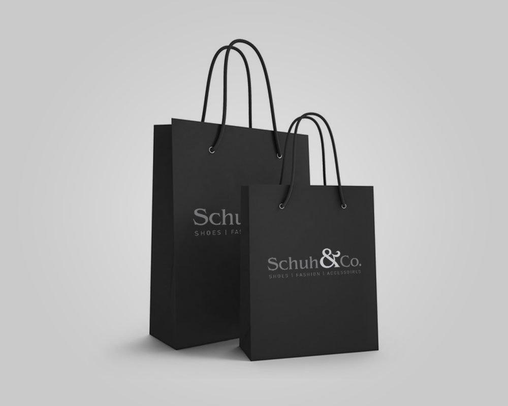 JD Designstudio   Werbeagentur & Webdesign   Schuh & Co. Tragetaschen