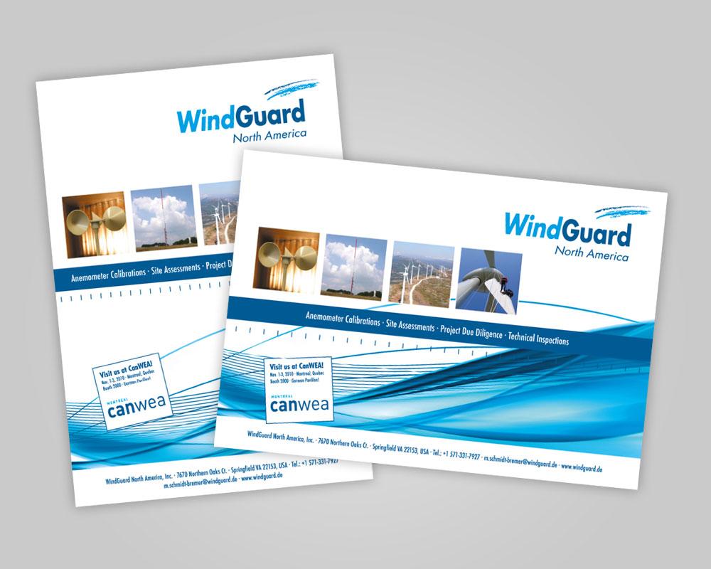 JD Designstudio | Werbeagentur & Webdesign | Deutsche WindGuard Anzeigen