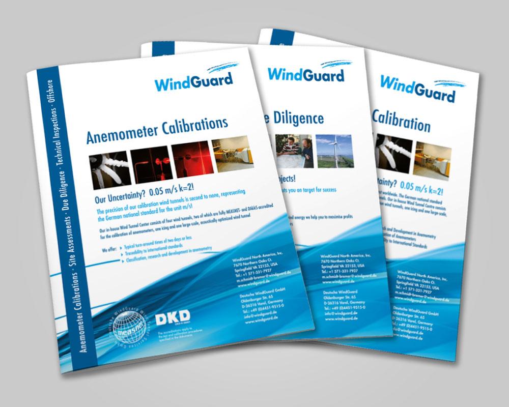 JD Designstudio | Werbeagentur & Webdesign | Deutsche WindGuard Prospekte
