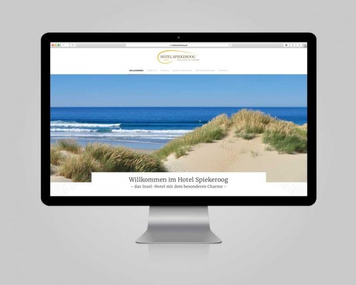 JD Designstudio | Werbeagentur & Webdesign | Hotel Spiekeroog