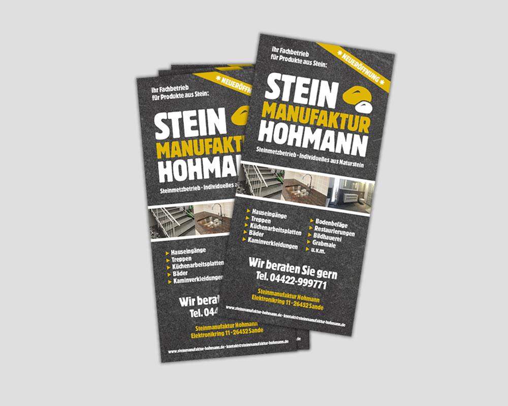 Visitenkarten   Steinmanufaktur Hohmann