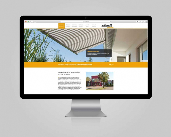 JD Designstudio | Werbeagentur & Webdesign | Siedt Sonnenschutz