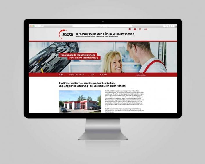 JD Designstudio | Werbeagentur & Webdesign | KÜS WHV