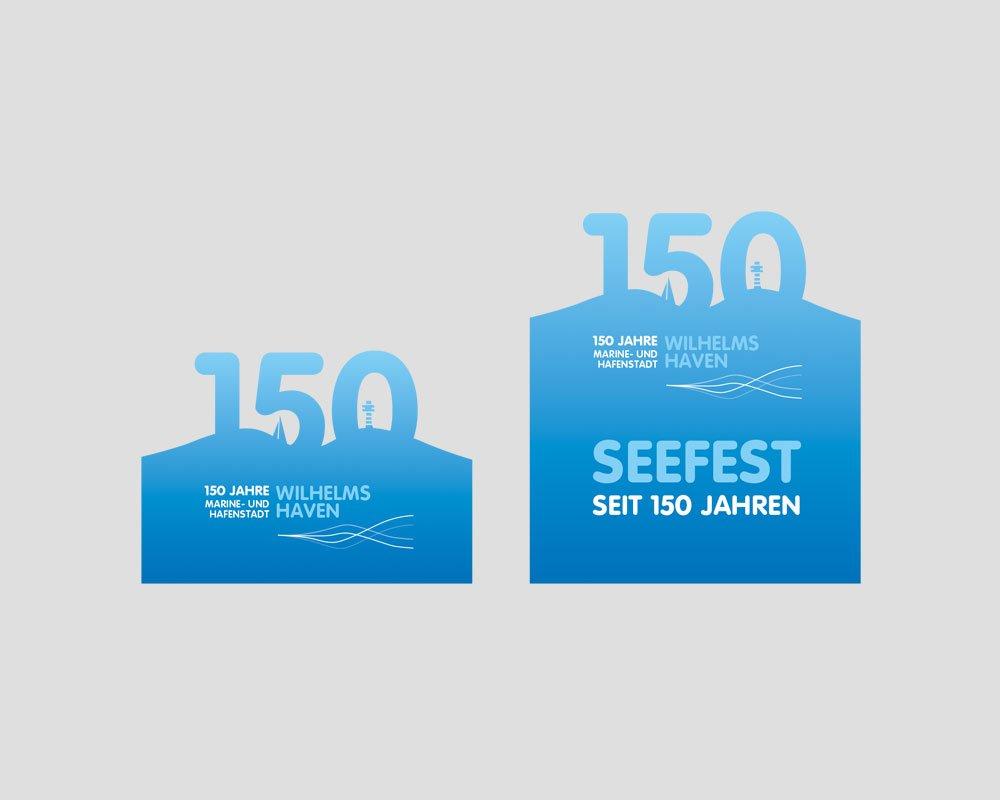 JD Designstudio | Werbeagentur & Webdesign | 150 Jahre WHV