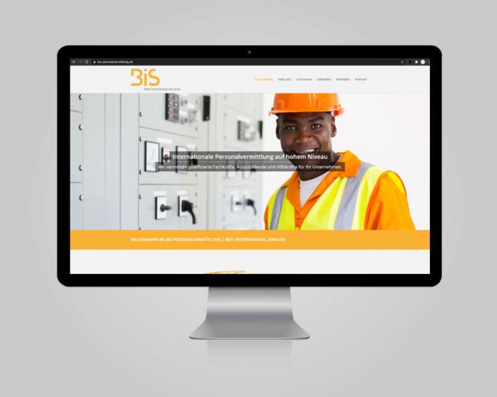 JD Designstudio | Werbeagentur & Webdesign | BIS Personalvermittlung