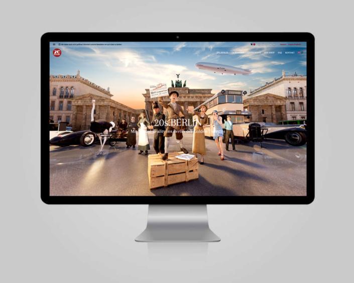 JD Designstudio | Werbeagentur & Webdesign | timetravel.berlin